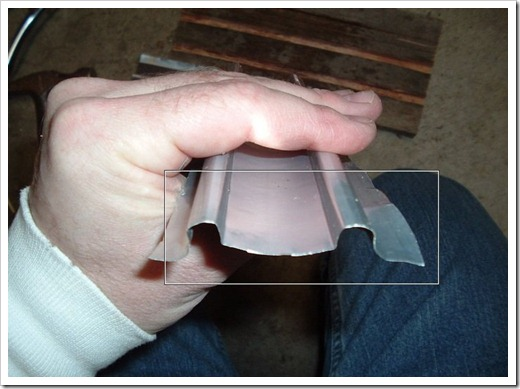 Как ровно согнуть лист металла
