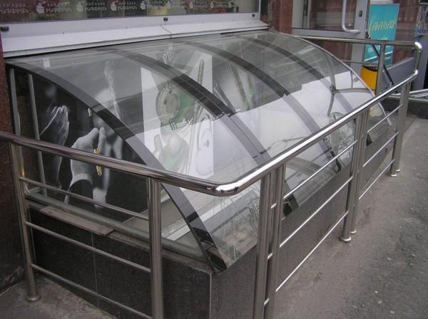 Как согнуть стекло в домашних условиях