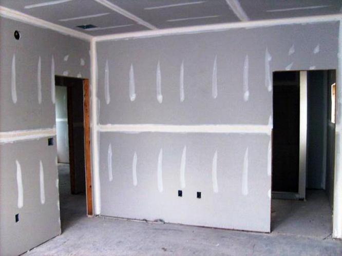 Сколько стоит обшивка стен гипсокартоном