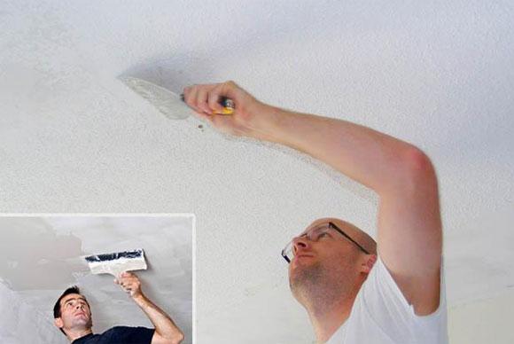 Сколько стоит выровнять потолок под покраску