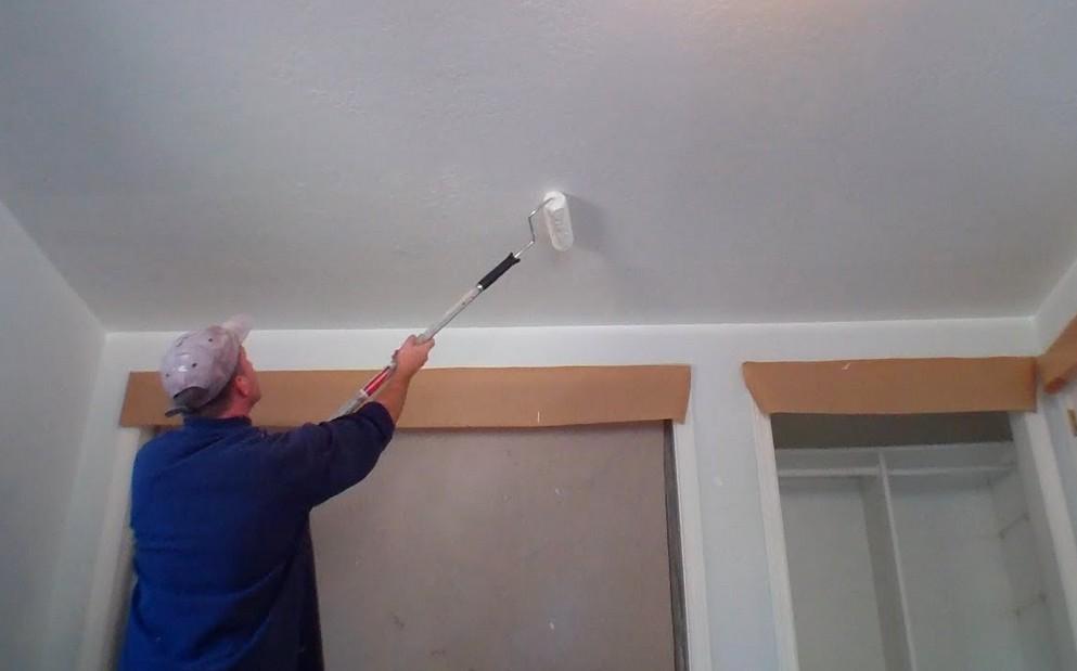 Сколько стоит зашпаклевать потолок под покраску