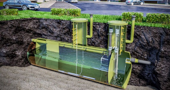 Станции очистки сточных вод для частного дома